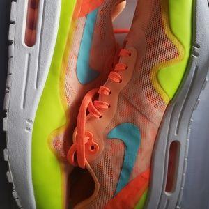 Florescent leopard Nikes